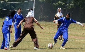 kashmir girl pelted stones football