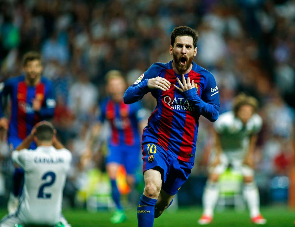 best authentic 9abfc df7df Twitterati Go Crazy Seeing Messi's Gravity Defying Shirt ...