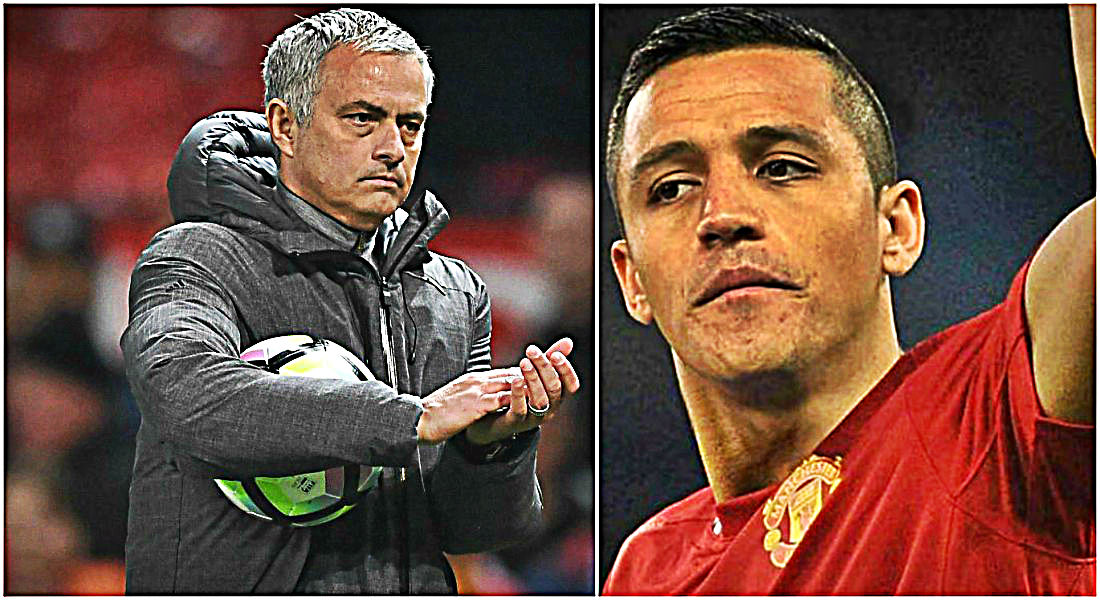 Image result for sanchez mourinho