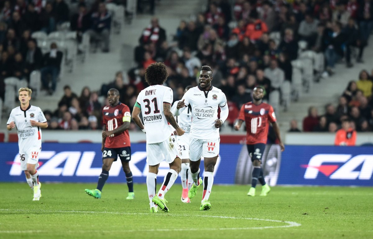 Balotelli Scores A Brace To Keep Nice Alive In Ligue 1 Title Race