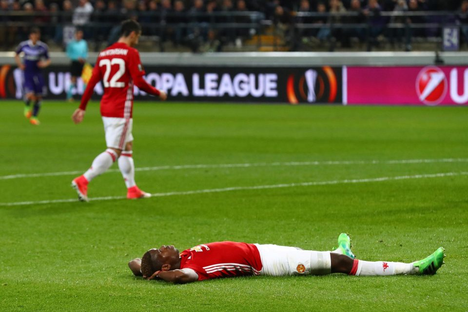 Mourinho Slams Man Utd Strikers For 'Failing To Kill Off' Anderlecht In Europa League Quarter Final First Leg