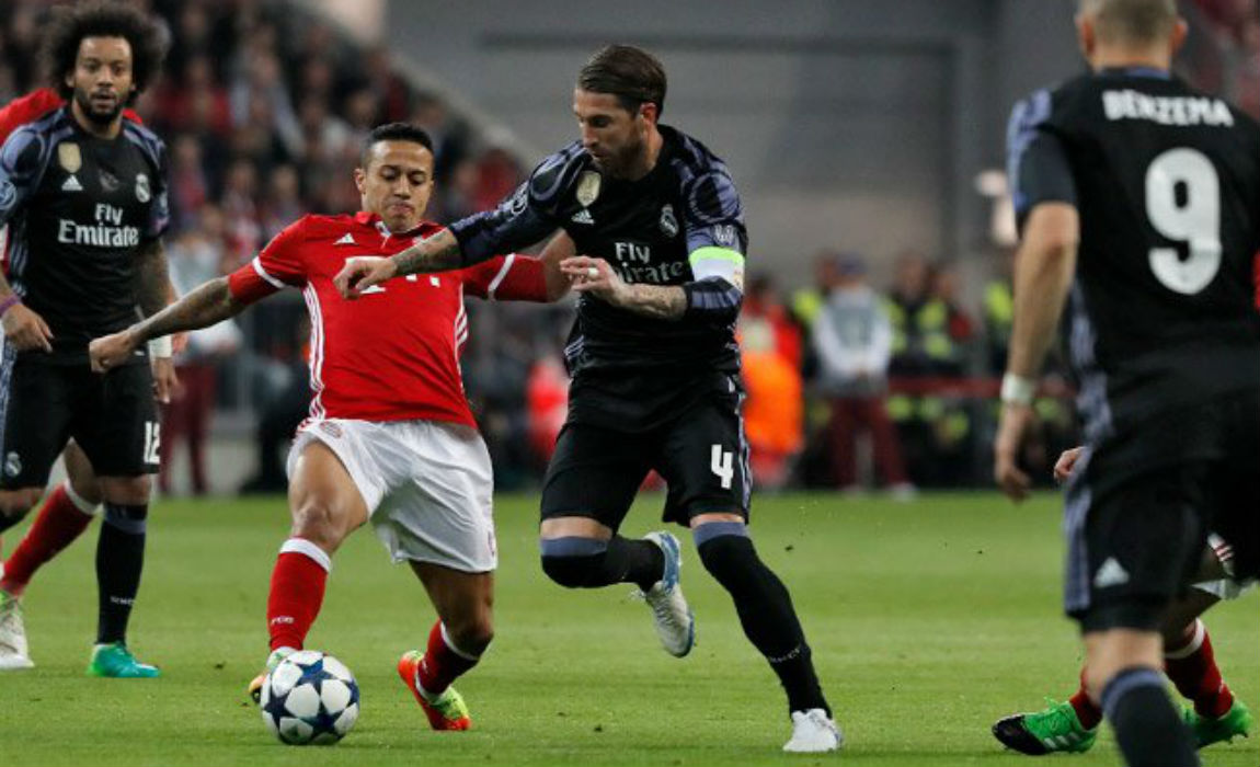 Ronaldo Nets 100th Goal As Real Madrid Drown Bayern Munich 2 1 In Champions League