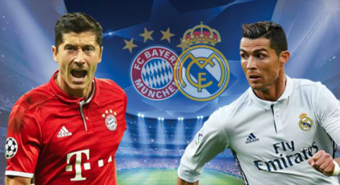 Image result for Bayern Munich vs Real Madrid Live