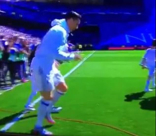 Cristiano Ronaldo Accidentally Terrifies Young Real Madrid Mascot