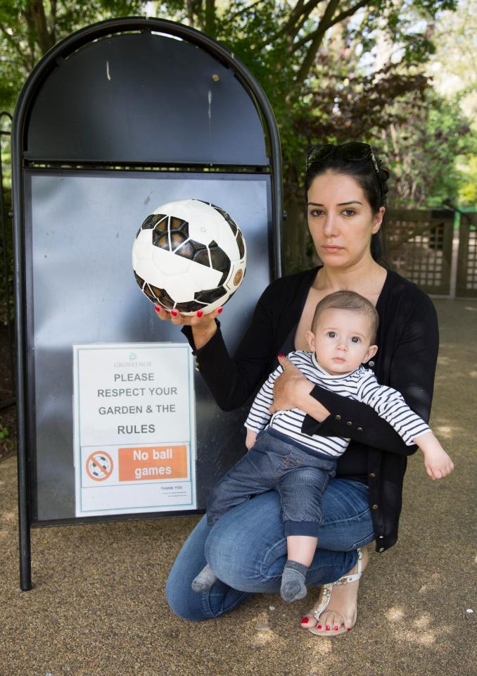Fabregas And Family Accused Of Hitting 6 Month Old With A Ball In Private Park In London