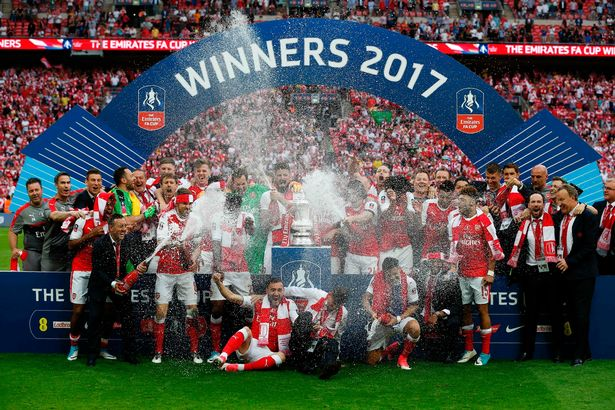 HAIL WENGER! Arsenal Are Champions Of FA Cup For The 13th Time