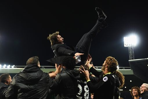 Antonio Conte Celebrated Premier League Title Win With Chelsea Staff Till 7 AM