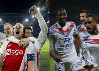 ajax vs lyon LIVE