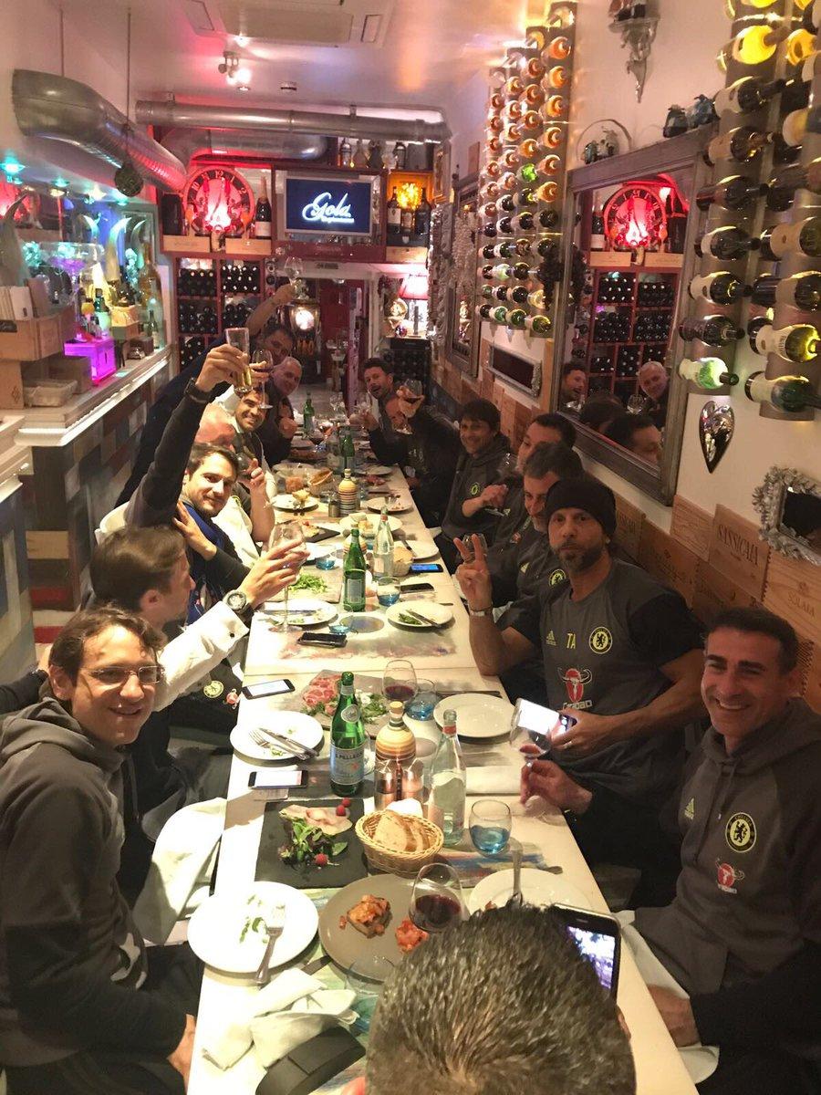 Antonio Conte Celebrated Premier League Title Win With Chelsea Staff Till 7 AM