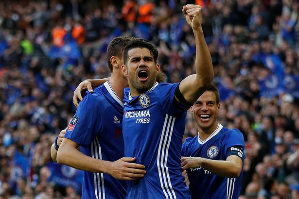Chinese club Tianjin Quanjian Believe They Have Agreed A Stunning £75m Deal With Diego Costa
