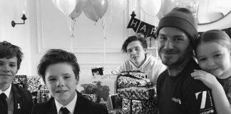 david beckham birthday 2017
