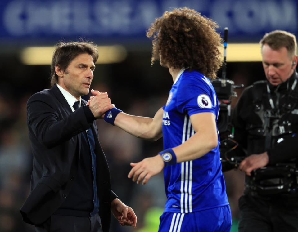 David Luiz Ready To Quit Chelsea And Force Through Move To Barcelona After Antonio Conte Spat