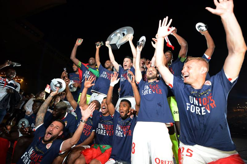 Mbappe Scores A Wonder Goal As Monaco Clinch First Ligue 1 Title Since 2000