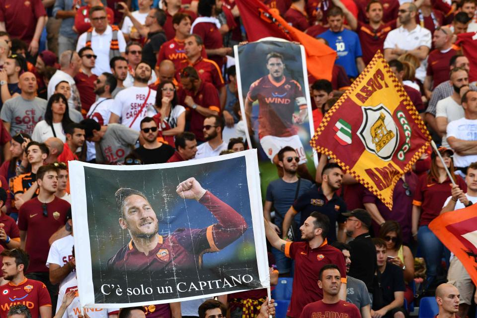 Club Legend Francesco Totti Confirms He Will Begin New Adventure As Roma Director