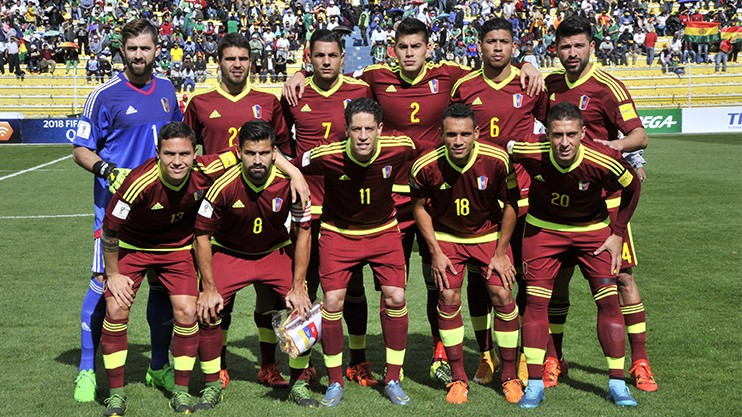 Venezuela Name Squad For June Friendlies