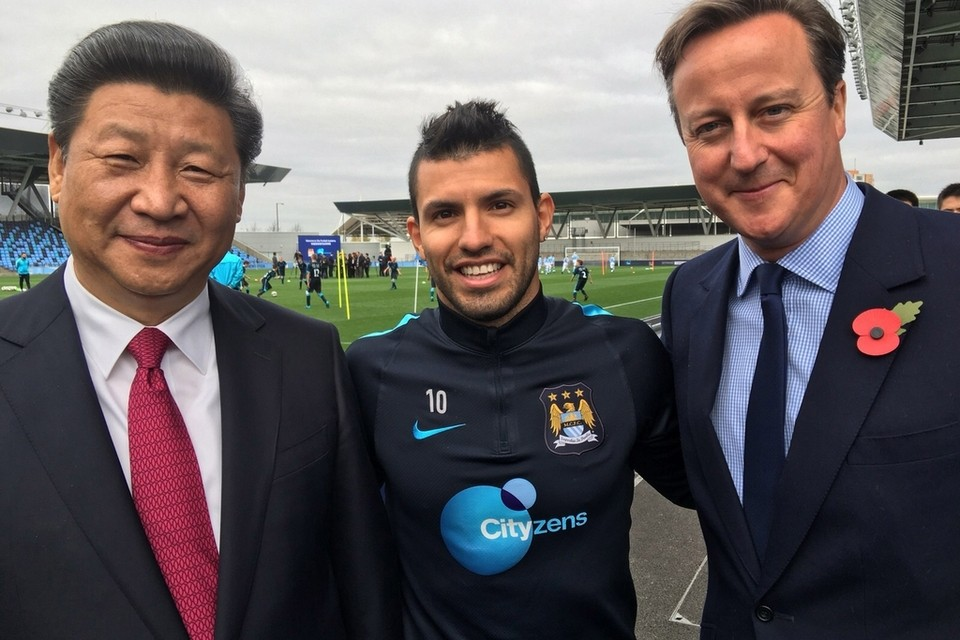 Agueros Decision To Stick With Man City Rules Out Switch To China... For Now