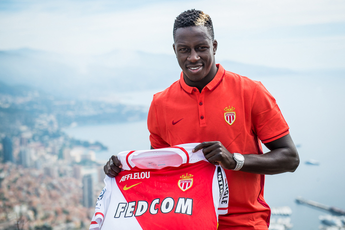 Image result for benjamin mendy signed for monaco