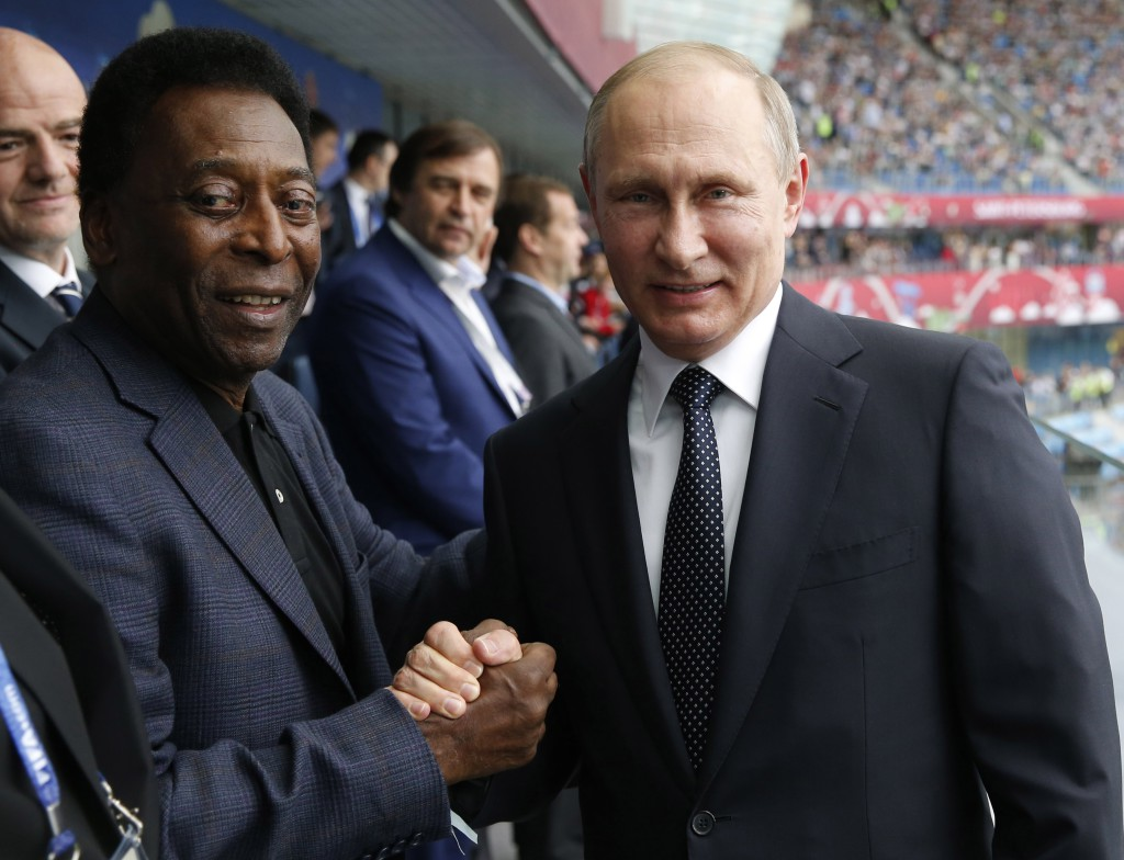Putin Thanks FIFA For Trust And Cooperation As Confederations Cup Kicks Off