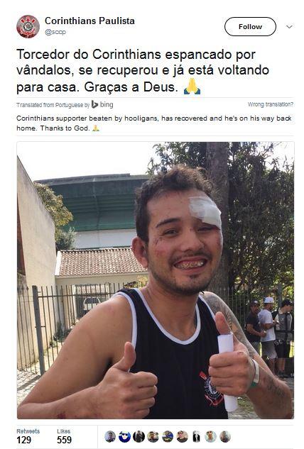 Six Hospitalized In Brazil Football Violence
