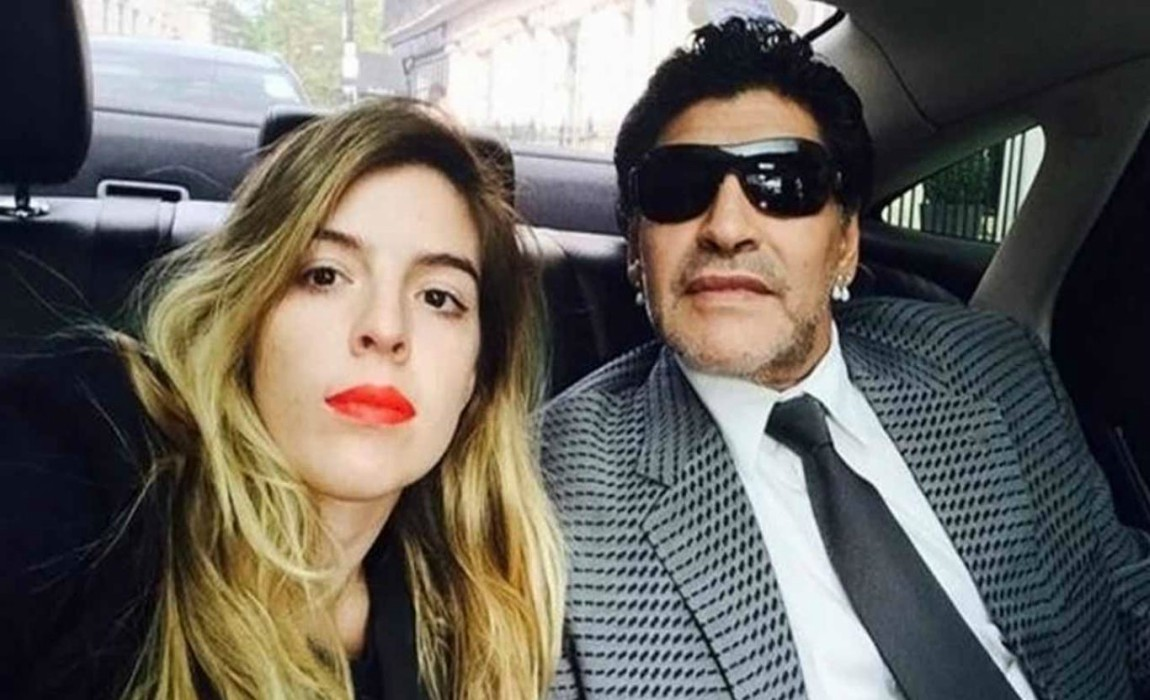Maradonas Daughter Hits Back At Dani Alves Criticsm