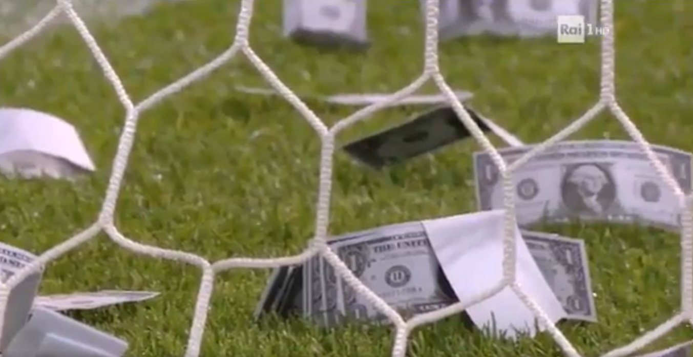 Wantaway Milan Star Donnarumma Pelted With Fake Notes During Italy Under 21 Match