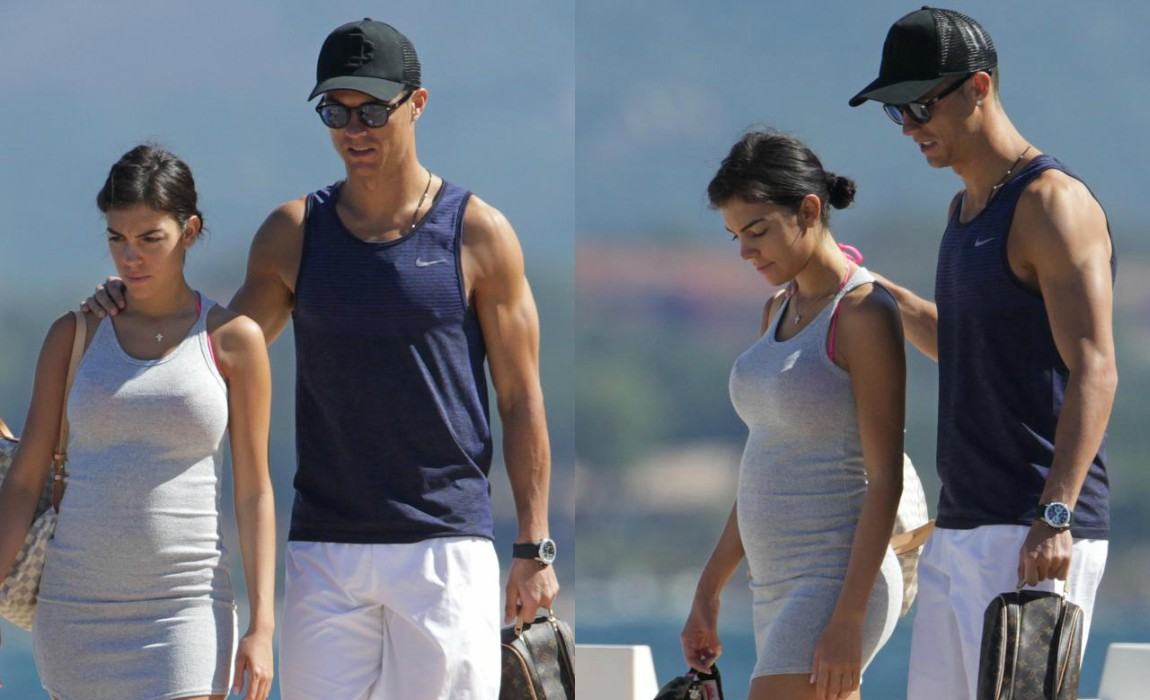 d1bf54513a5b1 Cristiano Ronaldo's Girlfriend Georgina Rodriguez 'Five Months Pregnant With  Baby Girl'