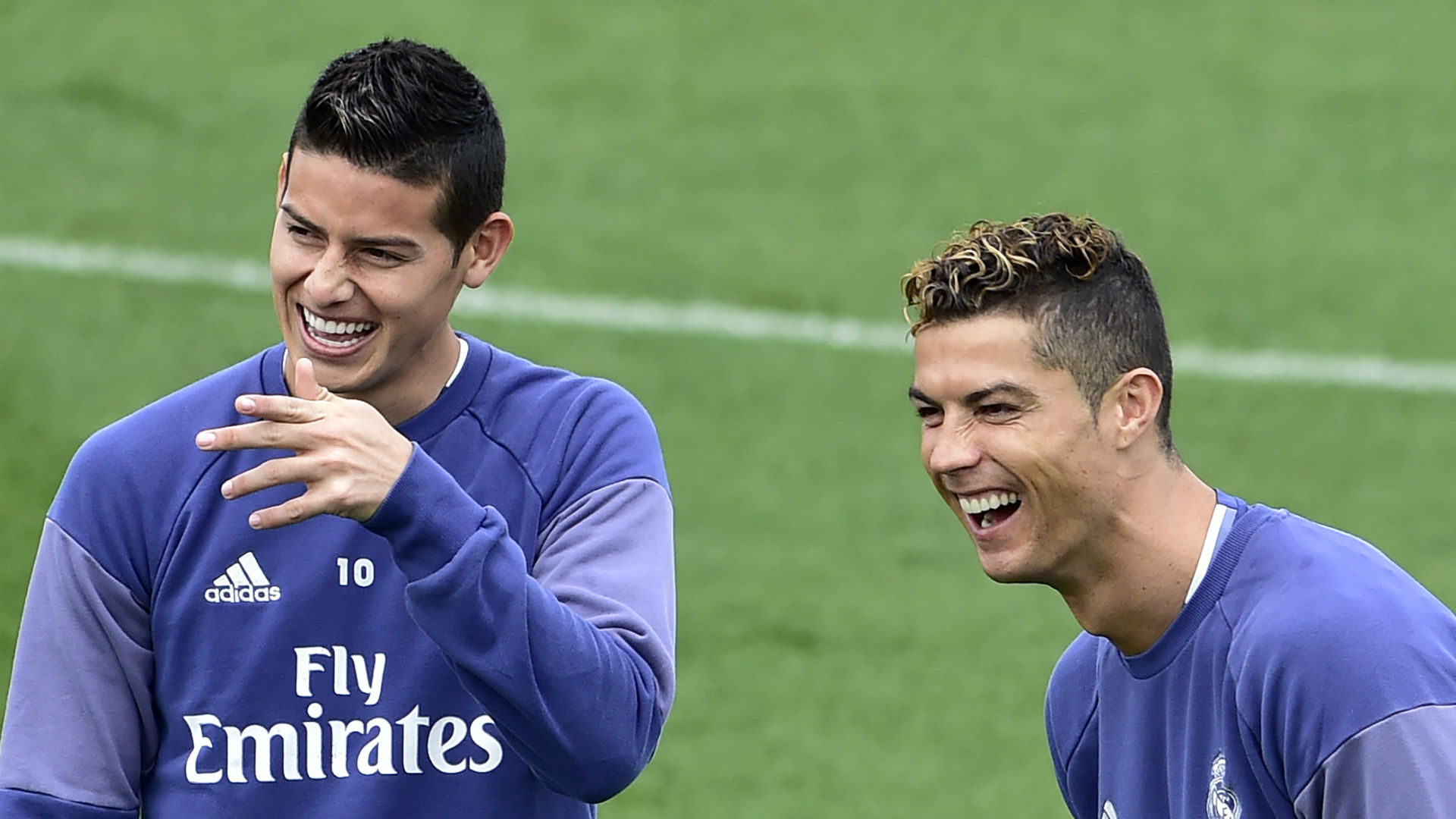 cristiano ronaldo i would tell james to stay at real madrid but he