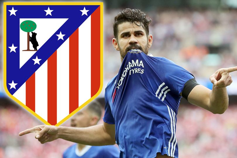 Chelsea Star Diego Costa Parties In Atletico Madrid Shirt And Mocks Antonio Conte