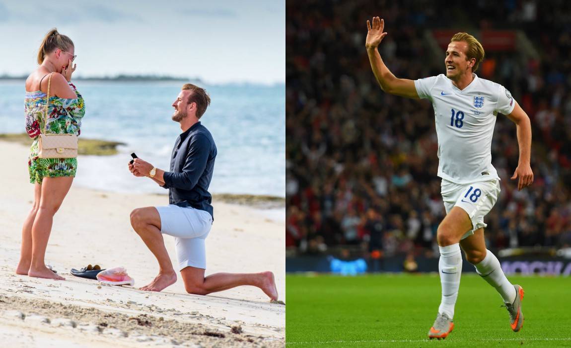 harry kane gets engaged to kate goodland marking a perfect