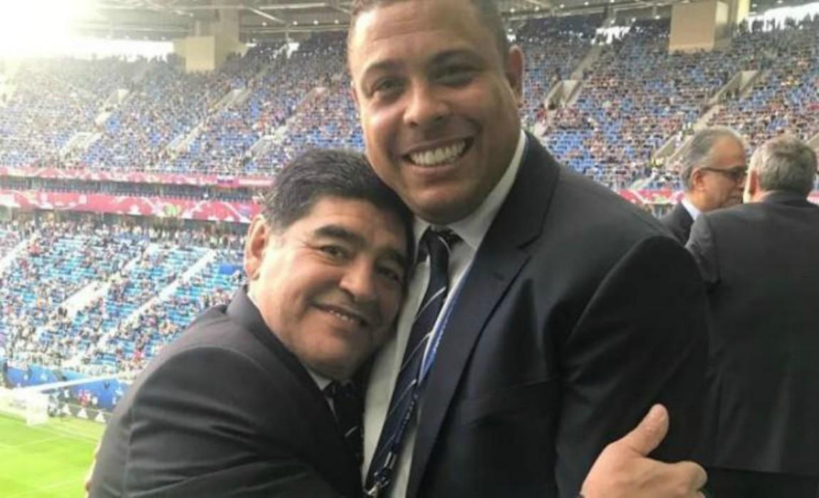 Ronaldo: Maradona 'The Greatest´