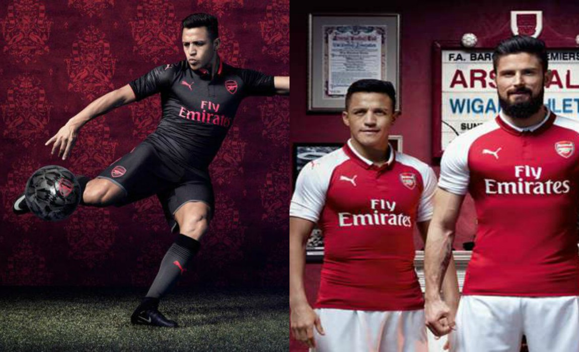e4c96659921 Alexis Sanchez Stars In Third Arsenal Kit Launch, Hinting He's Going Nowhere