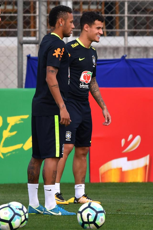 Neymar Tells Paris Saint Germain To Sign Liverpool Star Philippe Coutinho Despite Barcelona Interest