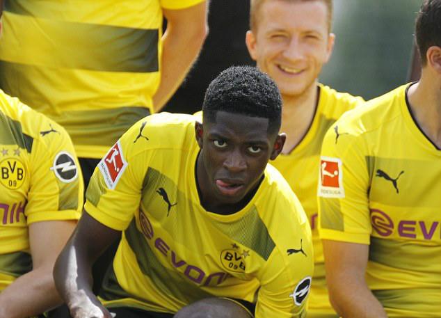 Still In Yellow... But For How Long? Barcelona Target Dembele Attends Dortmunds Shoot For New Season