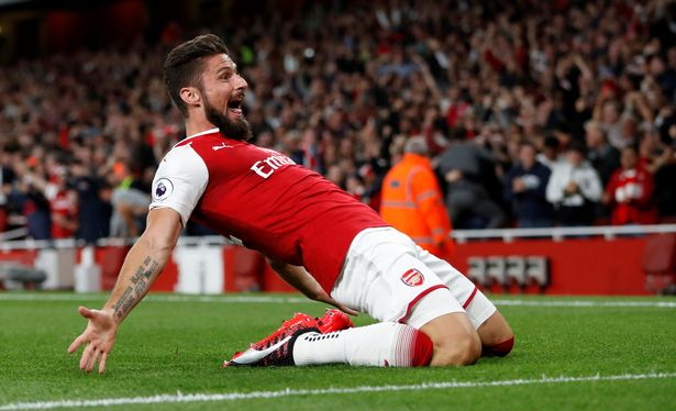 Giroud Confirms He Will Stay At Arsenal After Scoring Winner In Opening Day Leicester Thriller
