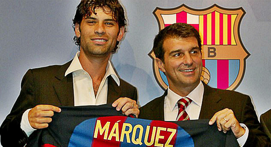 new arrival f3c45 db438 Ex-Barca Defender Rafael Marquez Among 22 Sanctioned For ...
