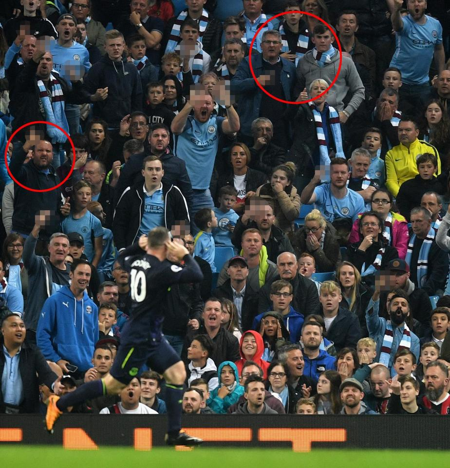 Rooney Taunts The Exact Same Man City Fans Five Years ...