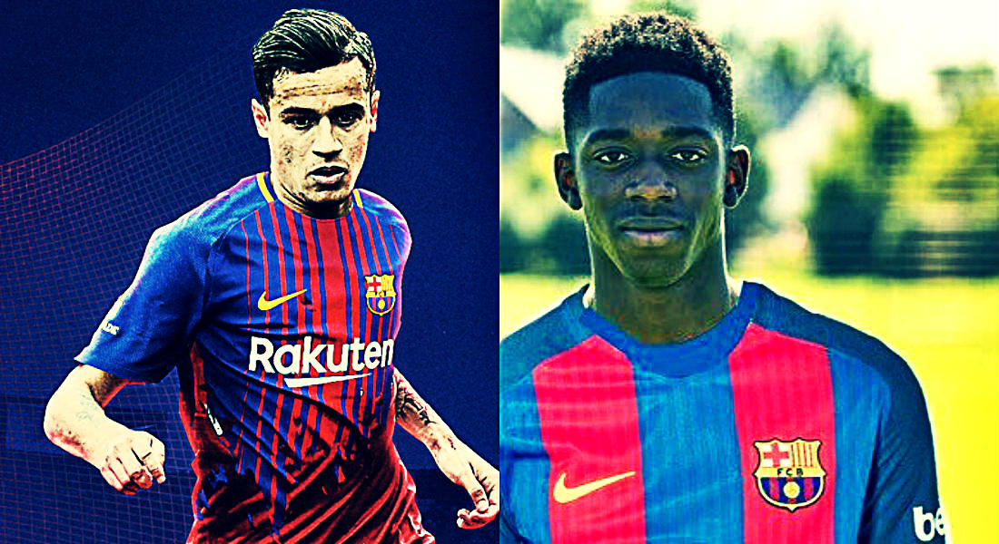 designer fashion dbfe3 08650 Barcelona Close To Signing Philippe Coutinho And Ousmane Dembele