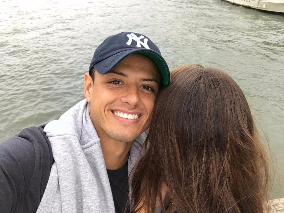West Ham Star Javier Hernandez's New Girlfriend Is Stunning