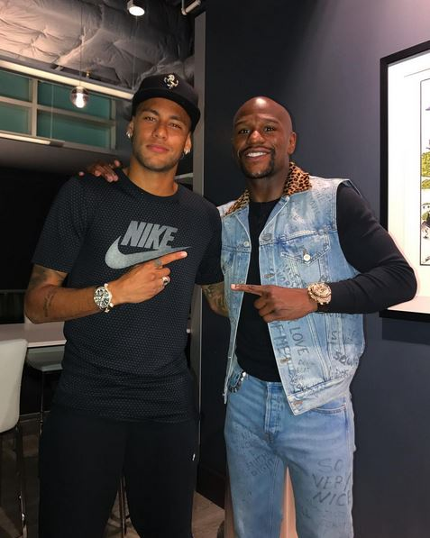 Justin Bieber, Lewis Hamilton And Floyd Mayweather Among Celebrity Friends Neymar Will 'Bring With Him' After £198million Transfer To PSG