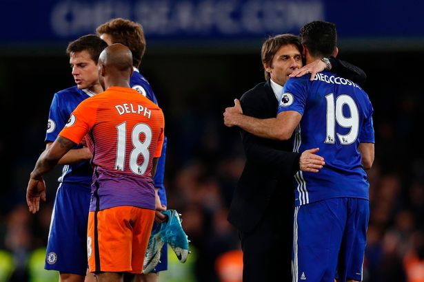 Chelsea Boss Antonio Conte WILL Shake Diego Costas Hand If They Meet At Atletico Madrid Next Week