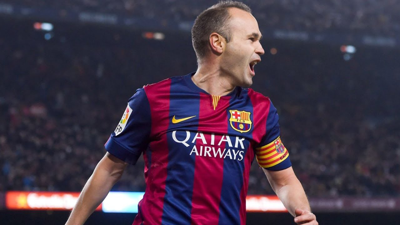 Barca Midfielder Andres Iniesta Denies New Contract Claims