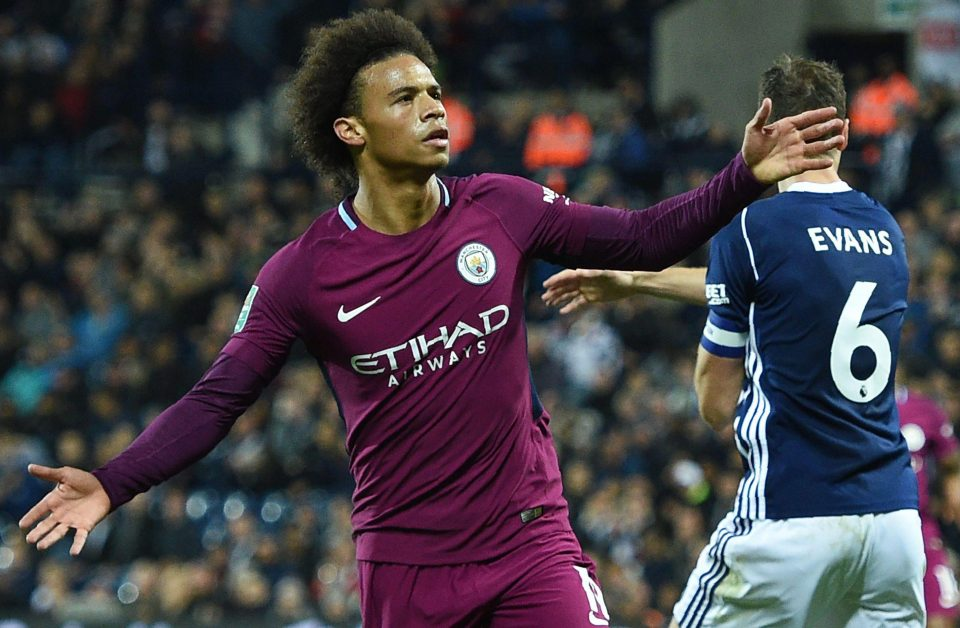 Double Delight For Manchester City As Pep Guardiola Wins Manager Of The Month And Leroy Sane Takes Player Award