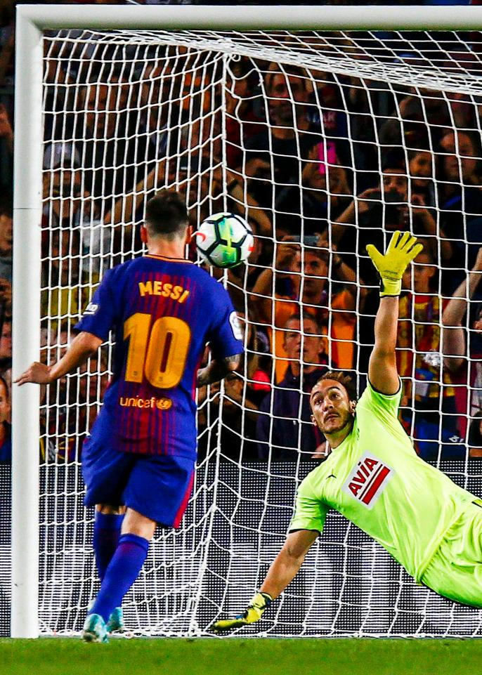 Messi Nets FOUR Times As Barcelona Continue 100 Per Cent ...