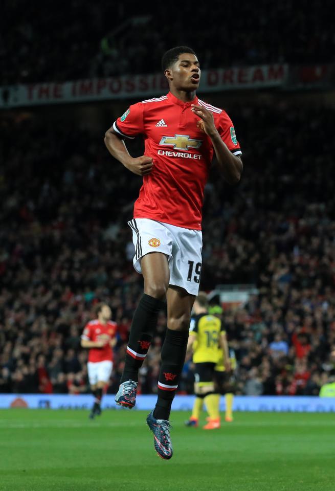 Man Utd Star Marcus Rashford Reveals How Ronaldo Made Him The Player He Is