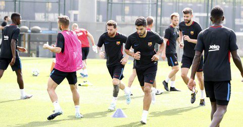 Rotations Begin For Valverde And Barca