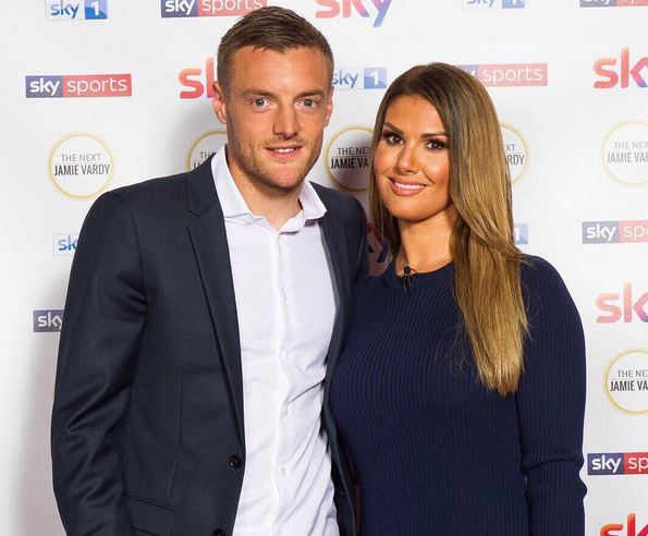 Leicester Star Jamie Vardy Installs High Tech Security System In Mansion After Death Threats And Sick Online Abuse Directed At Wife Rebekah