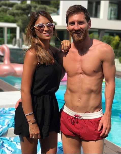 Barcelona Star Lionel Messi Has A New Tattoo Of His Wife Antonellas Lips… Next To His GROIN