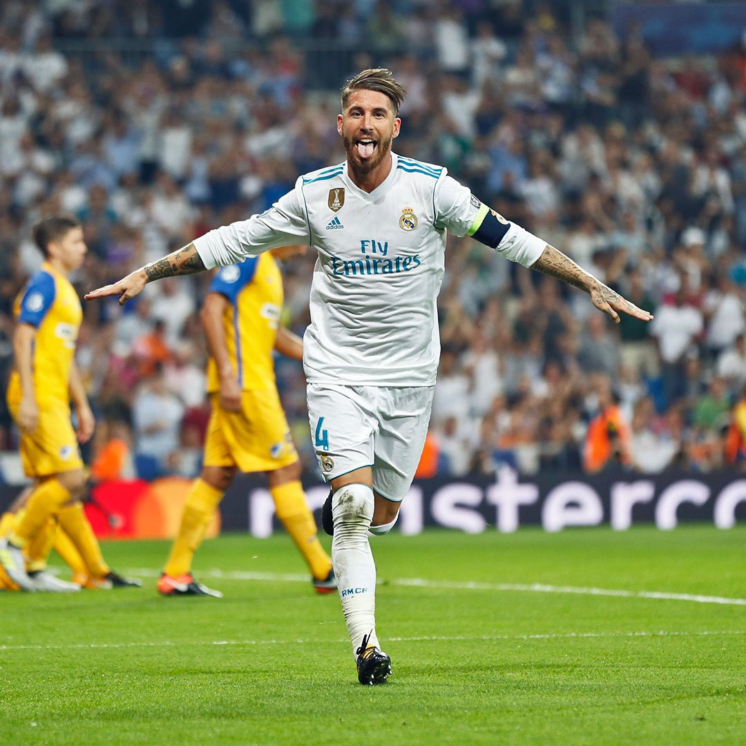 Real Madrid Skipper Sergio Ramos Responds To Cristiano Ronaldo Bust Up