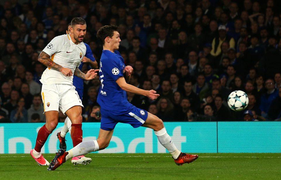 David Luiz Midfield Experiment Failed As Chelsea Blew 2 0 Lead And Dzeko Stirred Roma