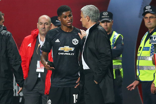 Mourinho Reacts To Man Utds Victory At Benfica And Discusses Rashford Injury